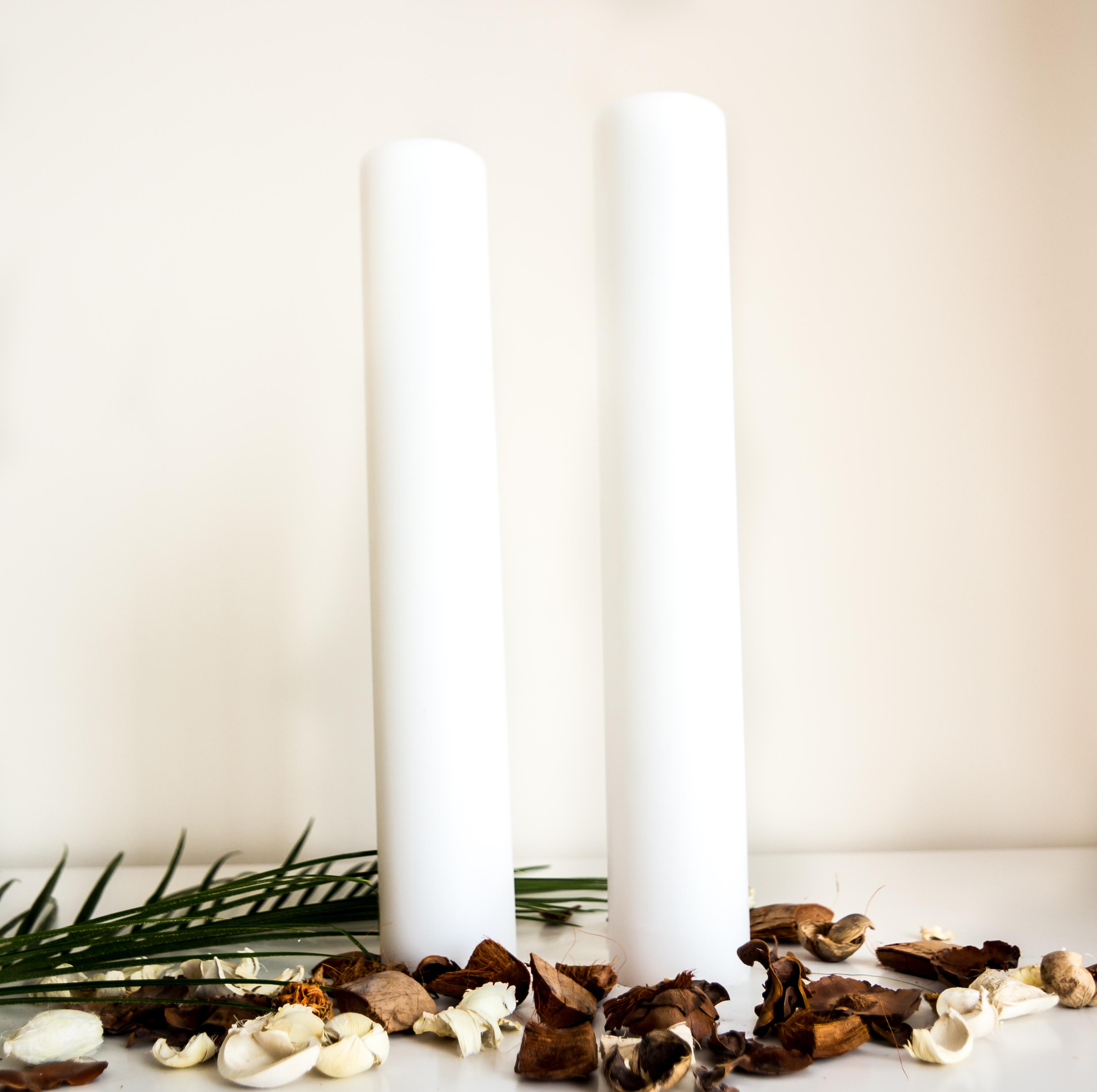 Lumanari De Nunta Scurte Si Groase 75x50cm Lumânări Decorative